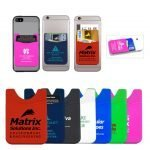 custom silicone phone wallets