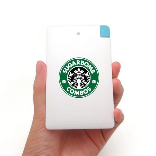 Slim Card Power Bank SugarBomb Combos