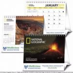 Looking for personalized calendars with a view? Iconic photography transports you around the Earth with this 2019 National Geographic desktop calendar.