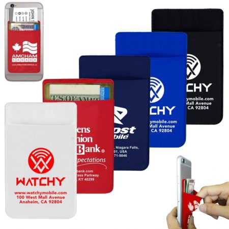 Personalized Lycra Phone Wallet