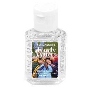 Compact hand sanitizer antibacterial gel family matters