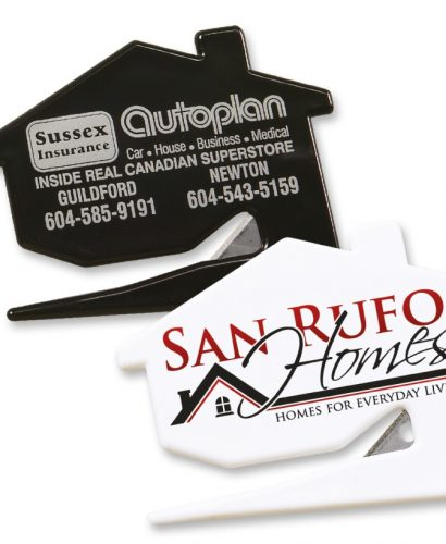 House Shaped Letter Openers - 10411