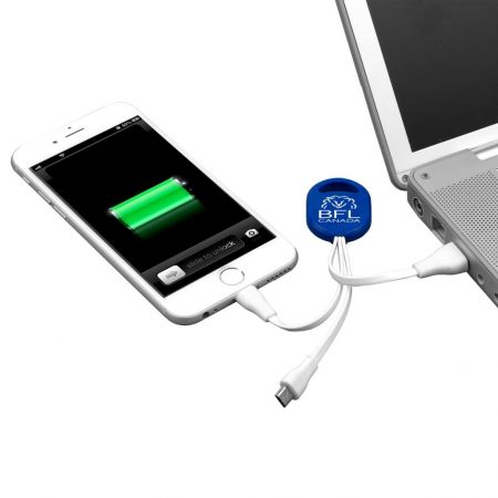 Custom 2-in-1 Charging Cable