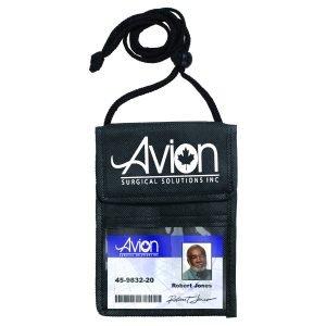 badge holder neck wallet