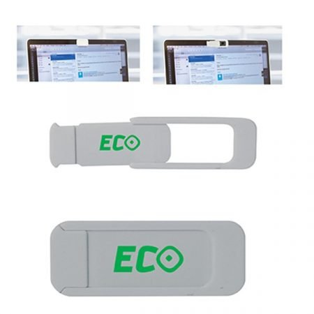 promotional webcam cover silver