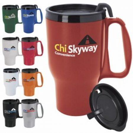 Custom Travel Mug - 16 oz.