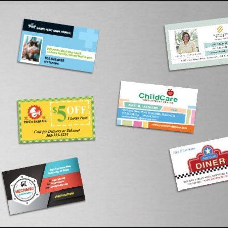 Custom Business Card Magnet