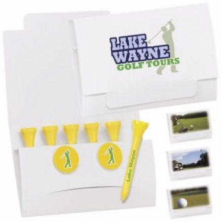 Custom Golf Tee Packets