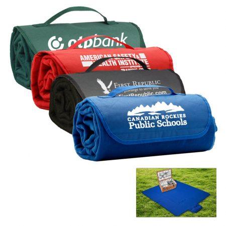 Custom Roll-Up Picnic Blanket