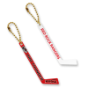 Hockey Stick Keychains