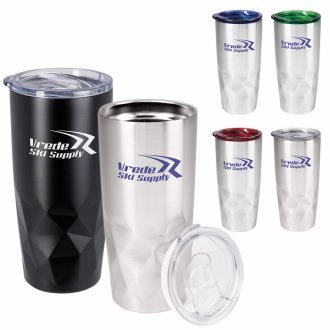 Glacier Diamond Vacuum Travel Tumbler