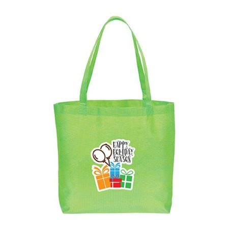 Large non woven Tote Bag - green