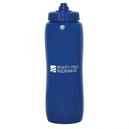 Valais Squeeze Water Bottle -blue