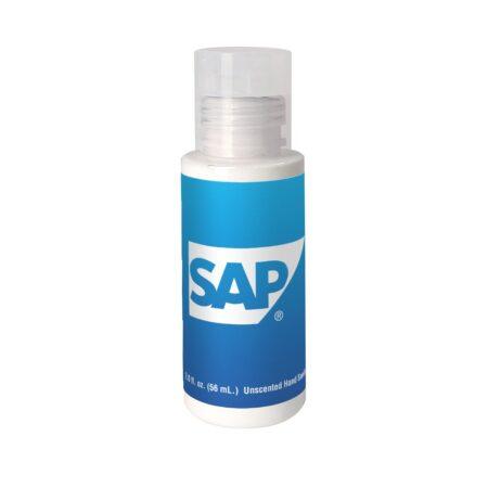SPF 30 Sunscreen Custom Clear Bottle - 2 oz