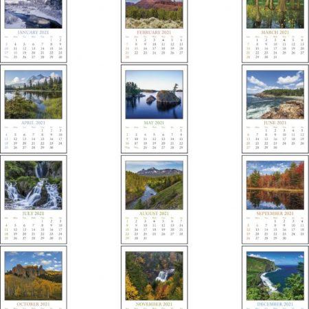 Custom Stick Up Calendar