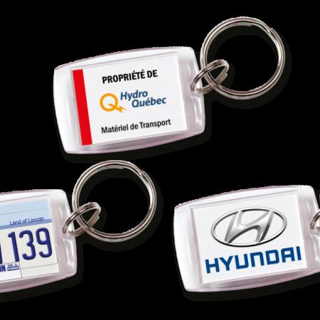 Custom Crystal Keychain