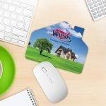 House Shape Mouse Pad