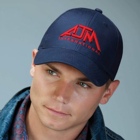 Brushed Cotton Drill Cap - Constructed Contour