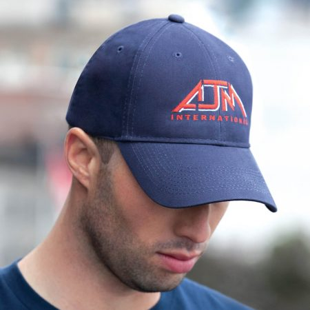 Brushed Cotton Custom Drill Cap