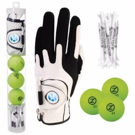 Golf Gift Pack Supertube w/ Custom Glove