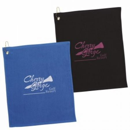 Promotional Colored Golf Towels