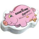 Piggy Bank Custom Compressed T-Shirt