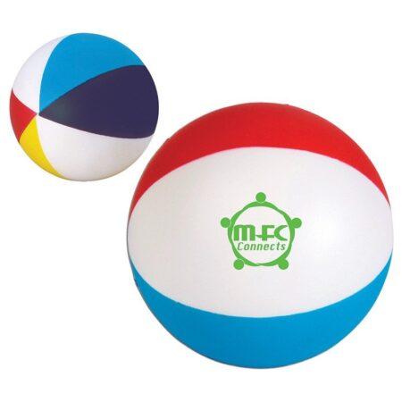Custom Beach Ball Stress Reliever