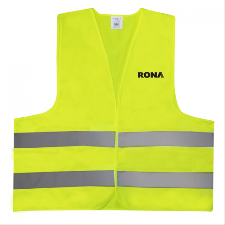 Custom Yellow Safety Vest