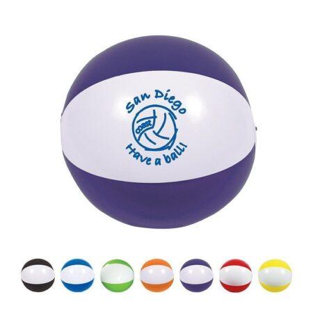 "Two Toned Custom Beach Ball - 16"""