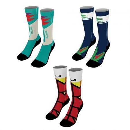 18-Inch Custom Dye Sublimated Socks