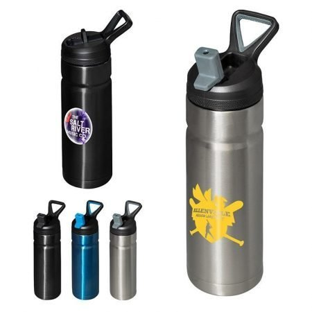 Custom Stainless Steel Insulated Water Bottle - 18 oz.