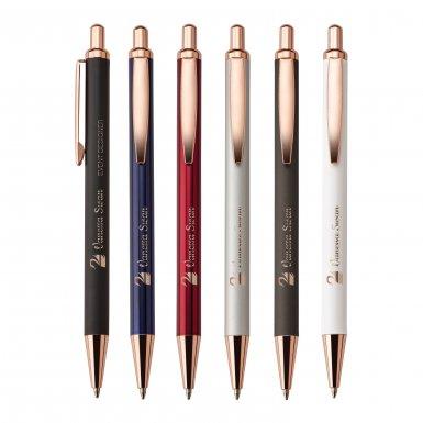 Rose Gold Custom Ballpoint Pens