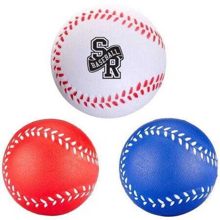 Baseball Custom Stress Ball