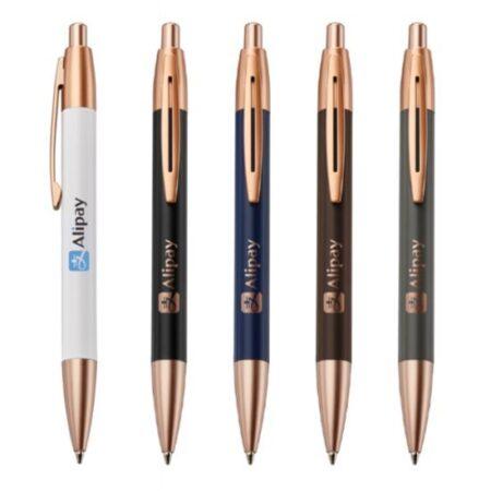 Rose Gold Custom Metal Pen