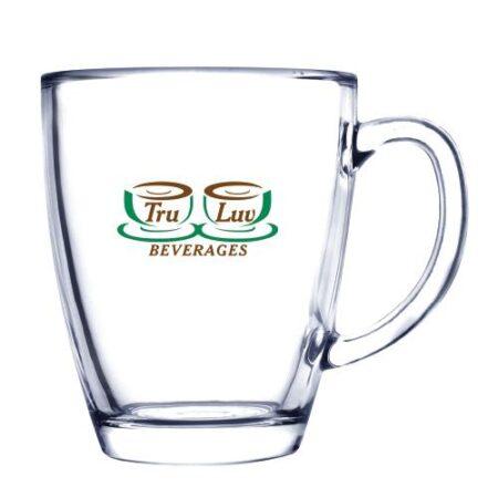 Tapered Custom Glass Mug