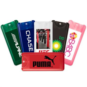 Mini Credit Card Custom Hand Sanitizer Spray