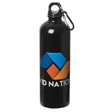 Stainless Steel Custom Water Bottle - 25 oz.