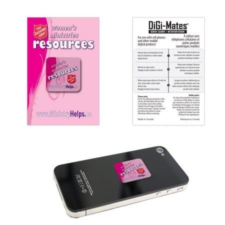 Cell Phone Sticky Microfiber Custom Screen Cleaner