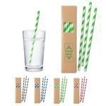 Custom Paper Straw Set