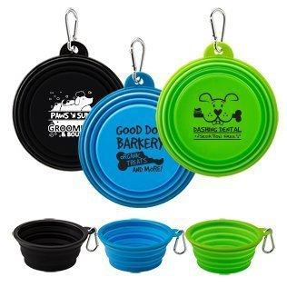 Custom Collapsible Silicone Pet Bowl