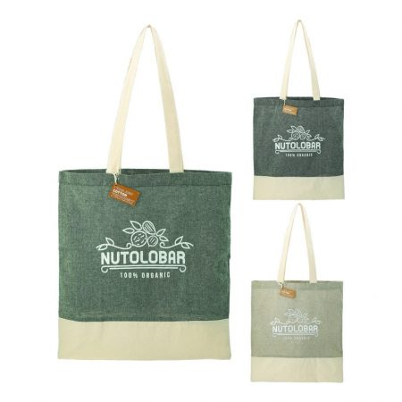 Recycled Cotton Custom Tote Bag
