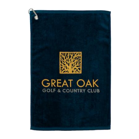 Custom Terry Cotton Golf Towel
