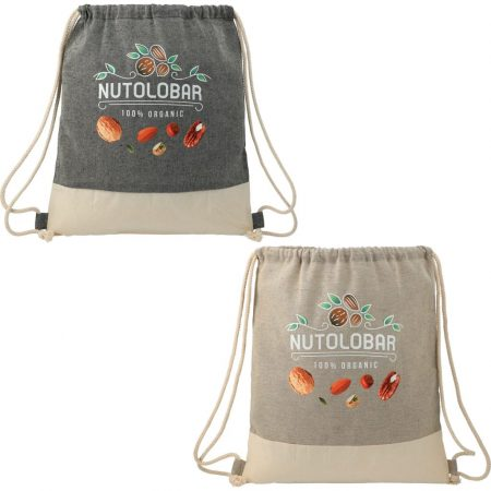 Custom Cotton Canvas Drawstring Bag