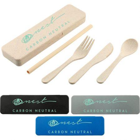 Custom Wheat Utensils Kit