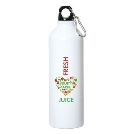 Aluminum Water Bottle w/ Carabiner 25 oz.