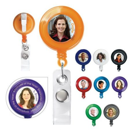 Retractable Promotional Badge Holder