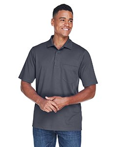 Core 365 Men's Performance Custom Piqué Polo w/ Pocket