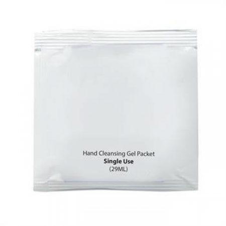 Custom Antibacterial Hand Cleansing Gel Packets