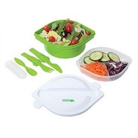 Custom Food Container w/ Utensils