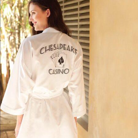 Lightweight Custom Spa Robe
